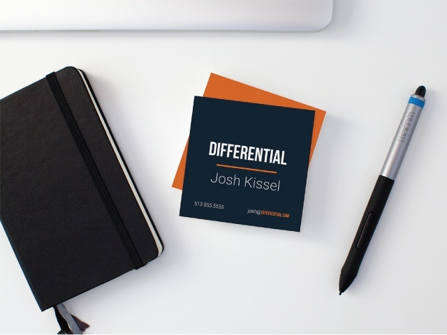 Differential Business Cards